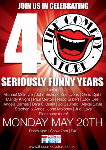 Comedy store 40th anniversary